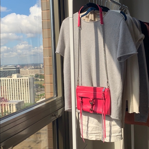 Rebecca Minkoff Handbags - • rebecca minkoff • hot pink mac crossbody